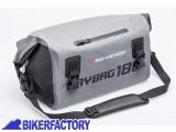 BikerFactory Borsa posteriore impermeabile SW Motech DRYBAG 180 in Tela cerata 500D volume 18 lt. BC.WPB.00.018.10000 1030830