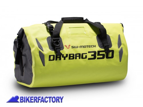 BikerFactory Borsa posteriore impermeabile SW Motech DRYBAG 350 35 lt. colore giallo neon BC.WPB.00.001.10001 Y 1028928