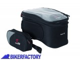BikerFactory Borsa serbatoio Elettrica EVO Quick Lock 12V TRIAL BAGS CONNECTION %2815 lt 22 lt%29 BC.TRE.00.002.20000 1024518