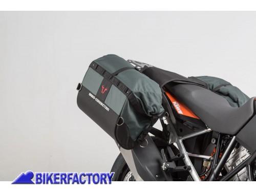 aad4e45f66 BikerFactory Borse laterali morbide per KTM Adventure valige semirigide  DAKAR SW Motech BC.HTA.