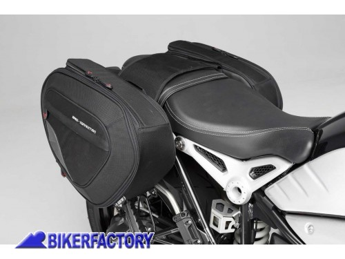 b32dcdc6a5 BikerFactory Kit borse laterali SW Motech Blaze H per BMW R nineT Pure  Urban G S BC
