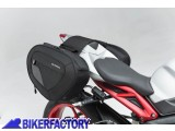 BikerFactory Kit borse laterali SW Motech Blaze H per TRIUMPH Speed Triple 660 675 765 e Daytona 675 BC.HTA.11.740.10701 B 1033261