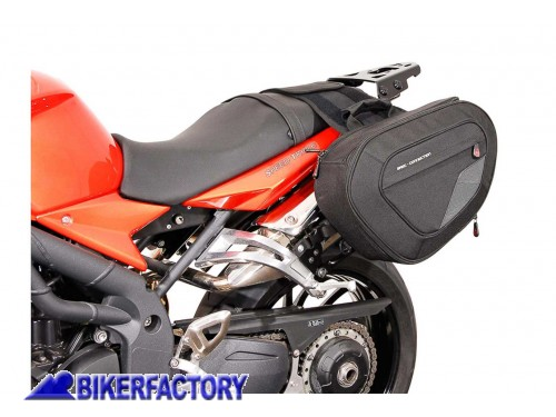 BikerFactory Kit borse laterali SW Motech Blaze per Triumph Speed Triple R %28%2708 %2710%29 BC.HTA.11.740.10300 B 1017044