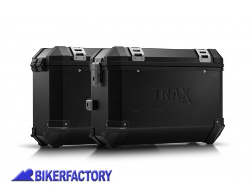 BikerFactory Kit borse laterali in alluminio SW Motech TRAX ION completo per KTM 620 Adventure 1041650
