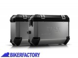 BikerFactory Kit borse laterali in alluminio SW Motech TRAX ION completo per KTM LC8 Adventure 1003016