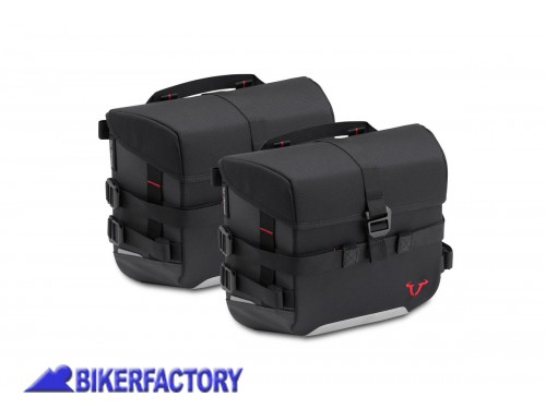 BikerFactory Kit completo borse SW Motech SysBag 10 10 per MOTO GUZZI V7 lll Carbon Milano Rough %28%2717 in poi%29 BC.SYS.17.595.30000 B 1042798