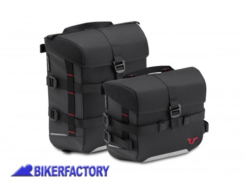 BikerFactory Kit completo borse SW Motech SysBag 15 10 per SUZUKI SV650 ABS BC.SYS.05.670.30000 B 1038713