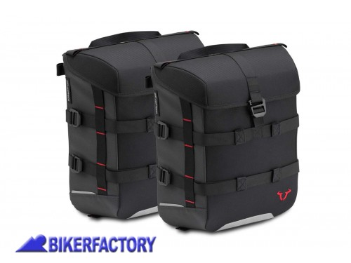 BikerFactory Kit completo borse SW Motech SysBag 15 15 per YAMAHA MT 07 %28%2718 in poi%29 BC.SYS.06.869.30000 B 1039415