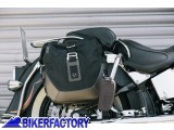 BikerFactory Kit completo borse laterali SW Motech Legend Gear LC2 sx %2813%2C5 lt%29 %2B LC2 dx %2813%2C5 lt%29 %2B telai laterali SLC %28sx %2B dx%29 per HARLEY DAVIDSON Softail Deluxe%2C Heritage Classic BC.HTA.18.793.20100 1035161