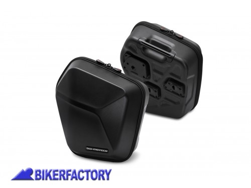 BikerFactory Kit completo borse laterali SW Motech URBAN ABS %28sx %2B dx%29 %2B telai laterali SLC %28sx %2B dx%29 per MASH Black Seven Brown Edition Dirt Track Seventy Five BC.HTA.42.905.30000 B 1040268