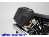 BikerFactory Kit completo borse laterali SW Motech URBAN ABS %28sx %2B dx%29 %2B telai laterali SLC %28sx %2B dx%29 per ROYAL ENFIELD Continental GT 650 Interceptor 650 BC.HTA.41.937.30000 B 1042991