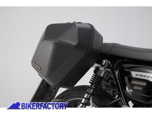BikerFactory Kit completo borse laterali SW Motech URBAN ABS %28sx %2B dx%29 %2B telai laterali SLC %28sx %2B dx%29 per TRIUMPH Speed Twin %28%2718 in poi%29 BC.HTA.11.928.30000 B 1042694