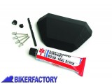 BikerFactory Angolo di ricambio inferiore lato frontale per borse in alluminio TRAX EVO S
