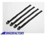 BikerFactory Cinghie di ricambio universali per fissaggio borse SW Motech Drybag 250 350 450 600 620 BC.ZUB.00.066.30000 1027967