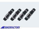 BikerFactory Kit cinghie di fissaggio per borsa Bags Connection DRYBAG M L BC.ZUB.00.042.30000 1018989