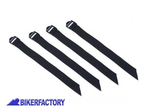 279ac5625a BikerFactory Kit cinghie di ricambio per SW Motech TRAX Expansion %5B4  cinghie 30x350mm%5D
