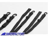 BikerFactory Kit cinghie per fissaggio borsa SW Motech DRYBAG 80 BC.ZUB.00.068.30000 1027969