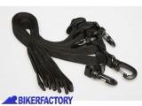 BikerFactory Kit cinghie posteriori per borse magnetiche SPORT e TOUR. BC.ZUB.00.044.30000 1018990