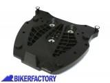 BikerFactory Piatto adattatore per portapacchi SW Motech ALU_RACK a sgancio rapido X bauletti GIVI KAPPA Monokey GPT.00.152.405 1000375
