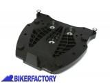 BikerFactory Piatto adattatore per portapacchi SW Motech ALU_RACK a sgancio rapido X bauletti SHAD %28Non compatibile con i bauletti SHAD SH29%2C SH39%2C SH48 e SH50%29 GPT.00.152.415 1000382