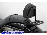 BikerFactory Portapacchi schienale poggiaschiena x Honda VT 750 C2B Black Spirit %28%2710 in poi%29 Backrest Back Rest and Pad Sissy Bar PW.01.379 025 1034102