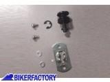 BikerFactory RICAMBIO vite sgancio rapido SW Motech sostitutiva per piastra portapacchi CAM.00.GPT 1001155