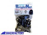 BikerFactory Rete elastica %28 ragno %29 OXFORD nera retroriflettente per fissaggio bagagli OXF.00.OF124 1024998