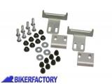 BikerFactory Kit adattatore %28funghetti%29 SW Motech per borse in plastica %22HEPCO%26BECKER%C2%A9%22 mod. SIDE CARRIER KFT.00.152.110 1000346