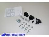 BikerFactory Kit adattatore %28funghetti%29 SW Motech per montaggio borse %22GIVI%C2%A9 KAPPA%C2%A9%22 MonoKey mod. SIDE CARRIER KFT.00.152.105 1000347