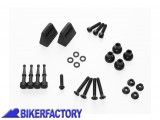 BikerFactory Kit adattatori %28funghetti%29 SW Motech per montaggio borse GIVI TREKKER su telai SW Motech mod. EVO KFT.00.152.20500 B KFT.00.152.20500 B 1024337