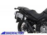BikerFactory Kit adattatori %28funghetti%29 aggiuntivo per aggancio borse GIVI KAPPA E28 E34 E38 su telai portaborse SW Motech SIDE CARRIER KFT.00.152.150 1000348