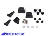 BikerFactory Kit adattatori %28funghetti%29 per montaggio borse GIVI KAPPA MonoKey mod. EVO KFT.00.152.205 1000409