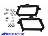 BikerFactory Kit adattatori %28funghetti e piastra%29 SW Motech su telai originali GIVI%C2%A9 per borse TRAX. KFT.00.152.10700 B 1000491