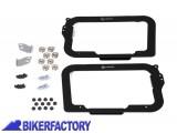 BikerFactory Kit adattatori %28funghetti e piastra%29 SW Motech su telai originali HEPCO %26 BECKER%C2%A9 per borse TRAX. KFT.00.152.10600 B 1000490