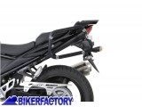 BikerFactory Kit piastre laterali %28TELAI portavaligie%29 di aggancio sgancio rapido mod %22EVO%22 Side Carrier per SUZUKI%C2%A9 %28piastre base%29 KFT.05.597.20000 B 1000856