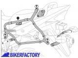 BikerFactory Kit piastre laterali %28TELAI portavaligie%29 di aggancio sgancio rapido per borse Givi V35 %2B Kappa K33N KFT.05.597.15000 B 1010876