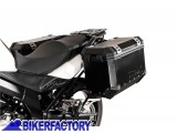 BikerFactory Kit piastre laterali SW Motech %28TELAI portavaligie%29 di aggancio sgancio rapido mod %22EVO%22 Side Carrier %28piastre base%29 per Suzuki DL650 V Strom %28%2711in poi mod. 2012%29 KFT.05.765.20000 B 1016950