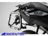 BikerFactory Kit piastre laterali SW Motech %28TELAI portavaligie%29 di aggancio sgancio rapido mod %22EVO%22 Side Carrier per BMW F 650 700 800 GS %28piastre base%29 KFT.07.559.20002 B 1023129