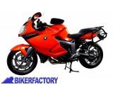 BikerFactory Kit piastre laterali SW Motech %28TELAI portavaligie%29 di aggancio sgancio rapido mod. %22EVO%22 x BMW K 1200 S K 1300 S KFT.07.362.20000 B 1000427