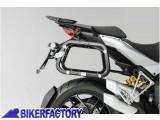 BikerFactory Kit piastre laterali SW Motech %28TELAI portavaligie%29 di aggancio sgancio rapido mod. %22EVO Side Carrier%22 %28piastre base%29 X DUCATI Multistrada 1200 KFT.22.140.20000 B 1003618