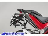 BikerFactory Kit piastre laterali SW Motech %28TELAI portavaligie%29 di aggancio sgancio rapido mod. %22EVO Side Carrier%22 %28piastre base%29 X DUCATI Multistrada 1200 KFT.22.584.20000 B 1033217
