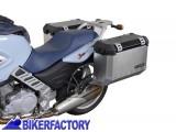 BikerFactory Kit piastre laterali SW Motech %28TELAI portavaligie%29 di aggancio sgancio rapido mod. %22EVO Side Carrier%22 %28piastre base%29 per mod. BMW F 650 CS Scarver. KFT.07.374.20000 B 1000267