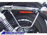 BikerFactory Kit telai x borse laterali a bisaccia in pelle o morbide x HARLEY DAVIDSON FXD Dyna Glide Dyna Super Glide PW.18.378 016 1038316