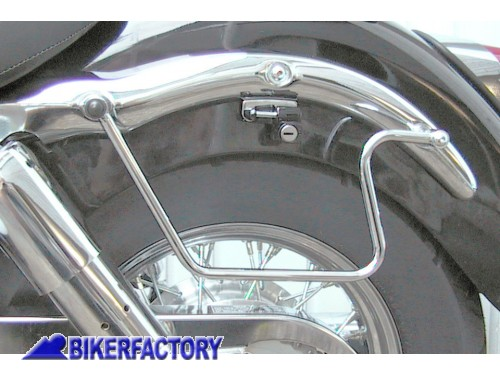 BikerFactory Kit telai x borse laterali a bisaccia in pelle o morbide x HONDA VT 750 C2 Shadow ACE Shadow Aero PW.01.378 028 1038317