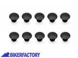 BikerFactory Tappini in gomma per telaietti laterali SW Motech QUICK LOCK %28Set 10 Pz.%29 KFT.00.152.30000 B 1013981