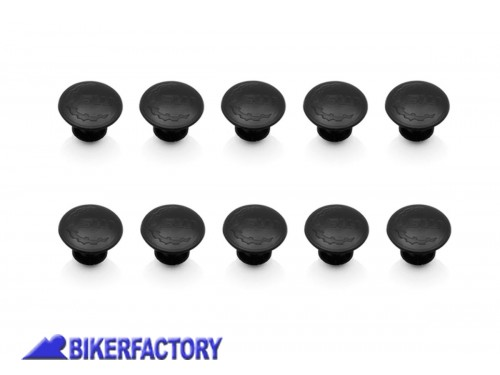 BikerFactory Tappini in gomma per telaietti laterali SW Motech QUICK LOCK EVO %28Set 10 Pz.%29 KFT.00.152.30000 B 1013981