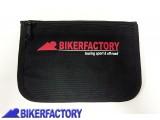 BikerFactory Borsello marsupio portadocumenti%2C porta carte di credito%2C portamonete da cintura sottosella moto con logo BIKERFACTORY BKF.00.9909 1034070