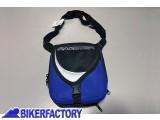 BikerFactory Borsello marsupio tracolla un vero svuota tasche quotidiano. colore Blu nero. BA4881_BLU 1018480
