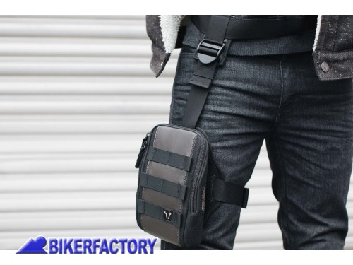 BikerFactory Kit fascia da gamba LA7 %2B borsello LA8 SW Motech Legend Gear BC.TRS.00.409.50000 1038811