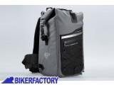BikerFactory Zaino antipoggia impermeabile SW Motech Drybag 300 Grigio Nero da 30 lt BC.WPB.00.011.10000 1030799